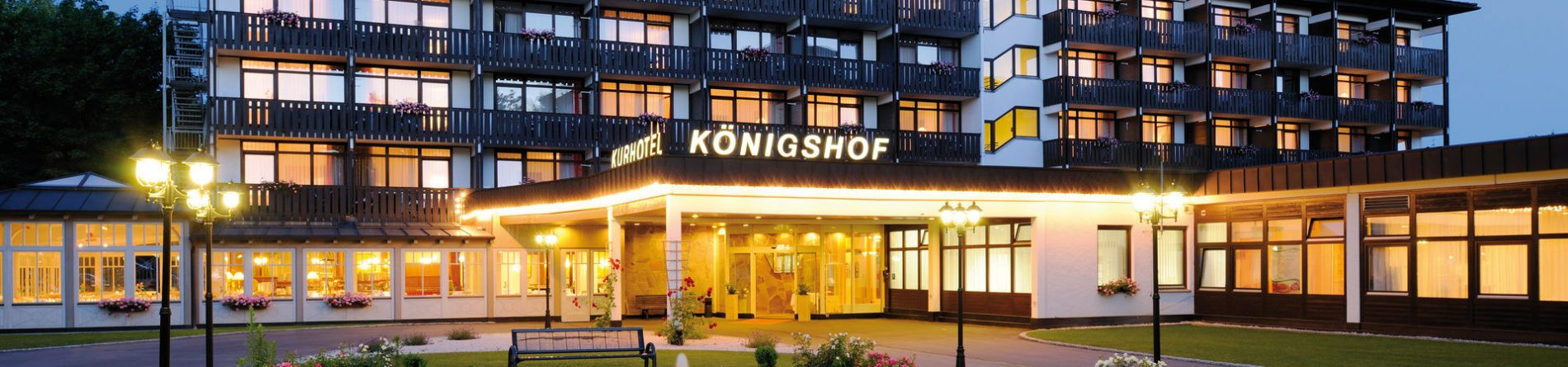 Johannesbad Hotel Königshof in <br/>Bad Füssing 5 Nächte ab 249.-